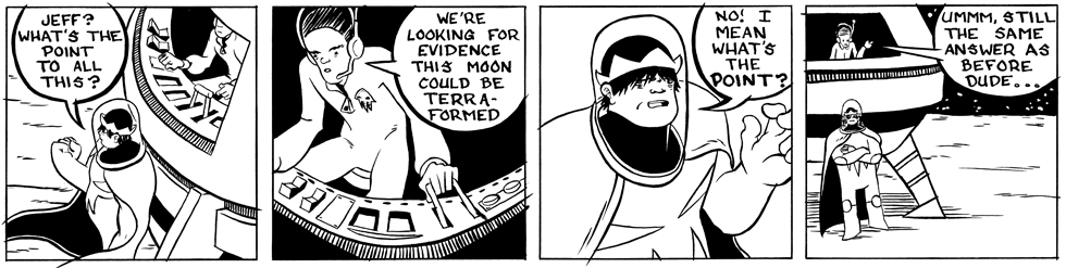In which Astronaut Prince ask the big questions . . .