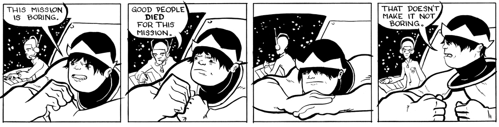 In which Astronaut Prince is bored . . .